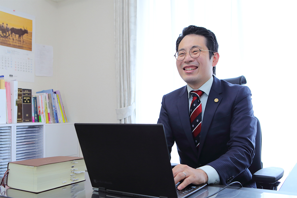 代表弁護士 杉島 健文